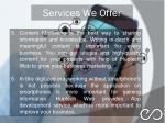 services we offer 2