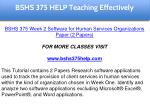 bshs 375 help education specialist 5