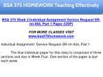 bsa 375 homework education specialist 13