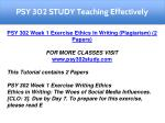 psy 302 study teaching effectively 3