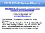 psy 302 study teaching effectively 4