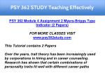 psy 362 study teaching effectively 5