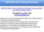 dbm 380 aid education specialist 15