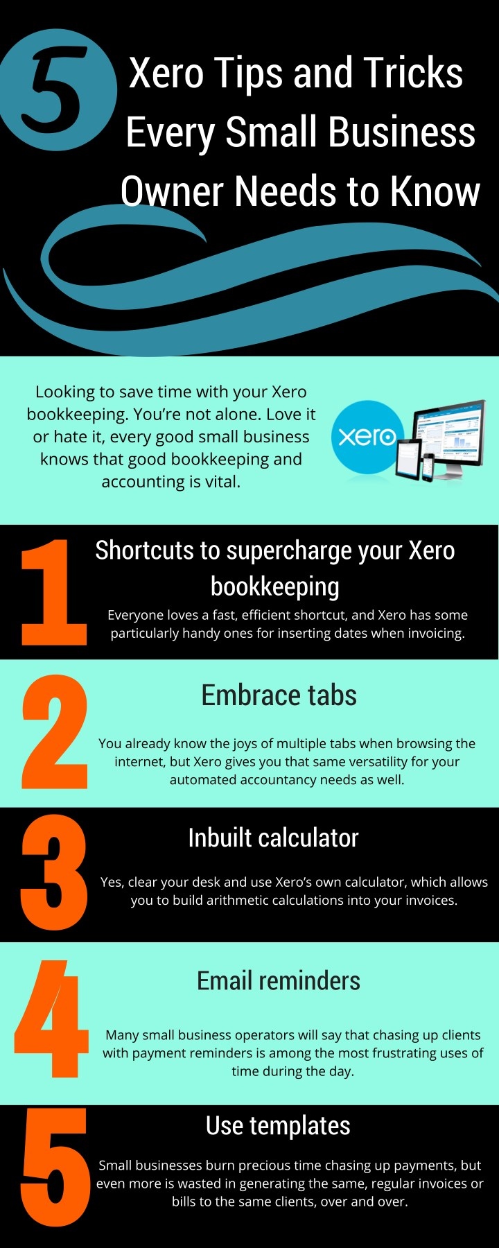 xero tips and tricks every small business owner n.