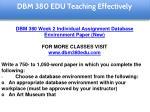 dbm 380 edu teaching effectively 14