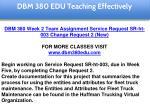 dbm 380 edu teaching effectively 16