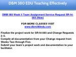 dbm 380 edu teaching effectively 38