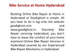 bike service at home hyderabad