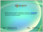 appngame provides platform to developers where