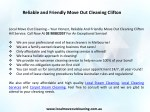 reliable and friendly move out cleaning clifton 1
