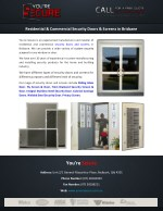 residential commercial security doors screens