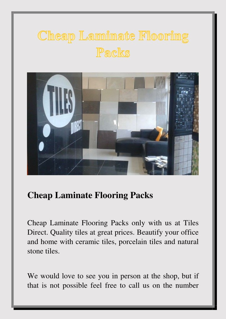 cheap laminate flooring packs n.