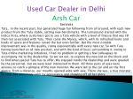 used car dealer in delhi 2