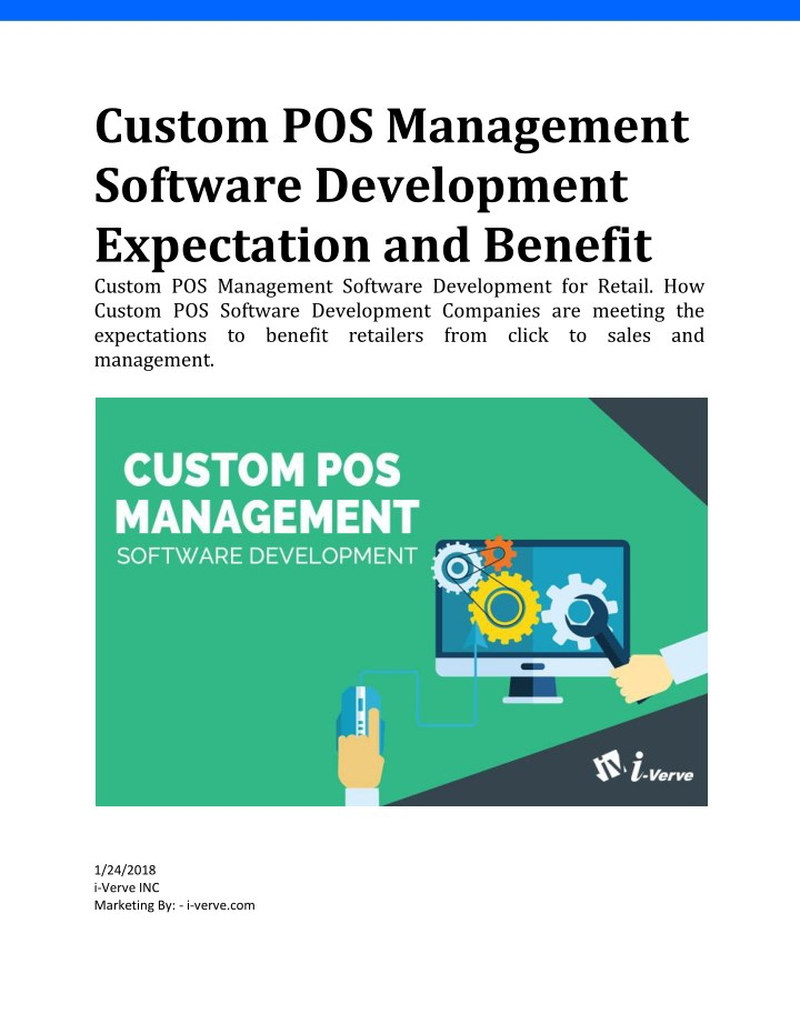 custom pos management software development n.