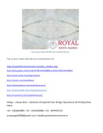 top luxury indian marbles by royalwhitemarmo 1