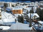 a congress centre and the town of davos