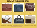 escaro escaro exquisite bags exquisite bags