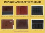 escaro handcrafted escaro handcrafted wallets
