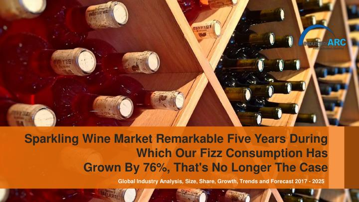 sparkling wine market remarkable five years n.