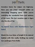 travelers leave for jaipur via highway
