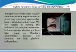 cyber security solutions by transputec