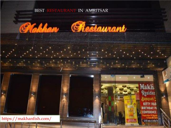 best restaurant in amritsar n.