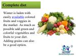 complete diet
