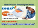 visit our website https passwordrecoverysupport us 1