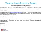 vacation home rentals in naples why choose home