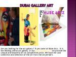 dubai gallery art