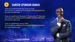 career sponsor bonus