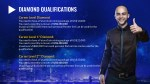 zv diamond qualifications career level diamond