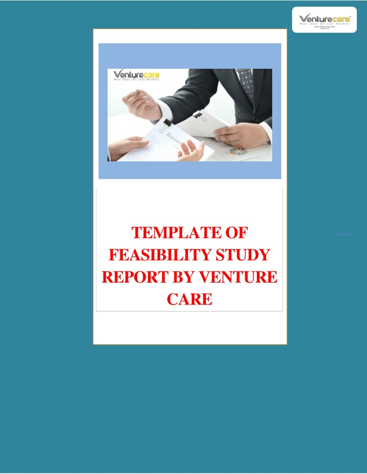 template of feasibility study report by venture n.