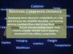 electronic components inventory