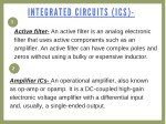 integr a ted circuits ics