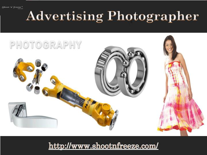 advertising photographer n.
