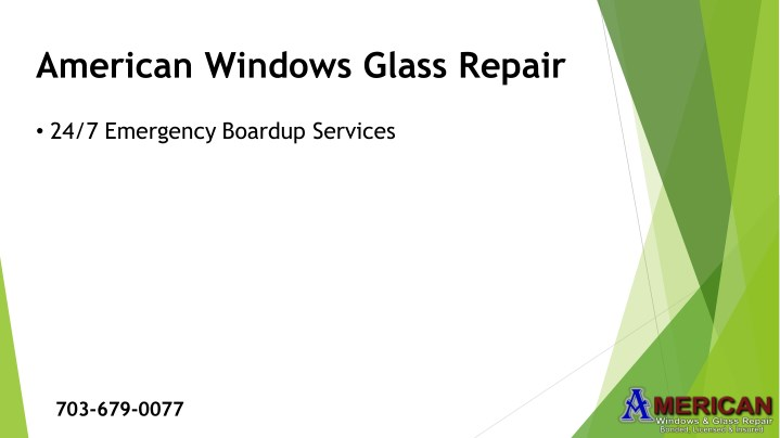 american windows glass repair n.