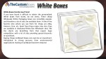 white boxes can be low priced if you have found