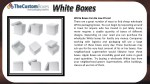 white boxes can be low priced there are a great