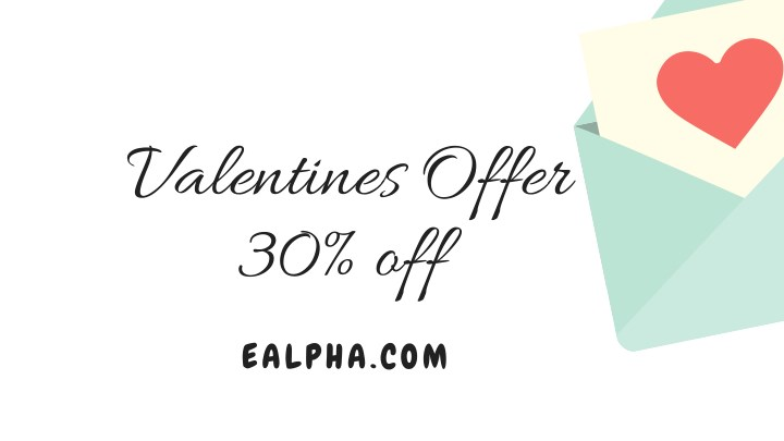 valentines offer 30 off n.