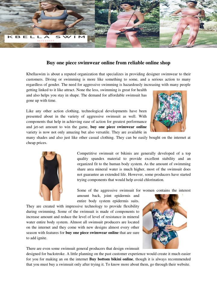buy one piece swimwear online from reliable n.