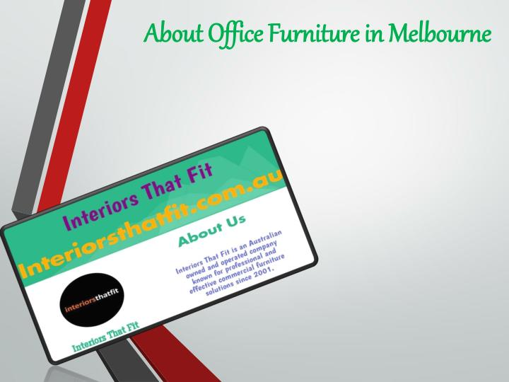 about office furniture in melbourne n.