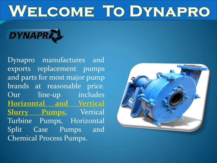 welcome to dynapro n.