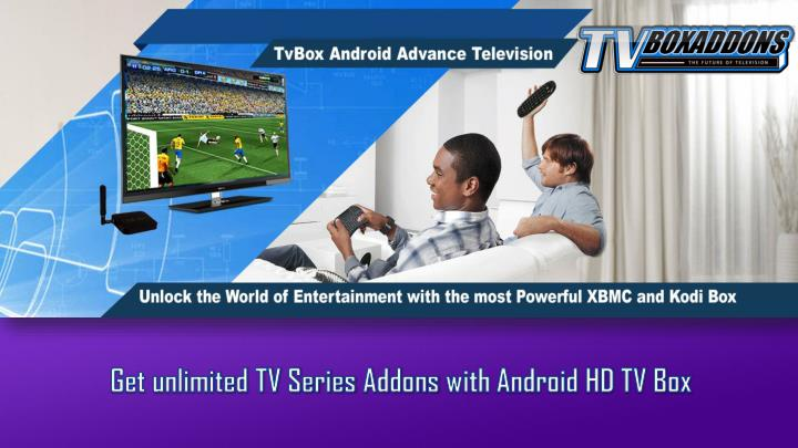 get unlimited tv series addons with android n.