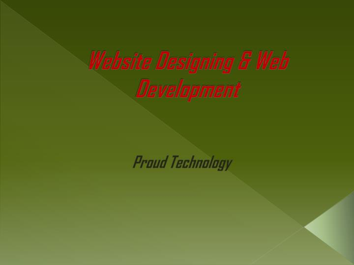 website designing web development n.