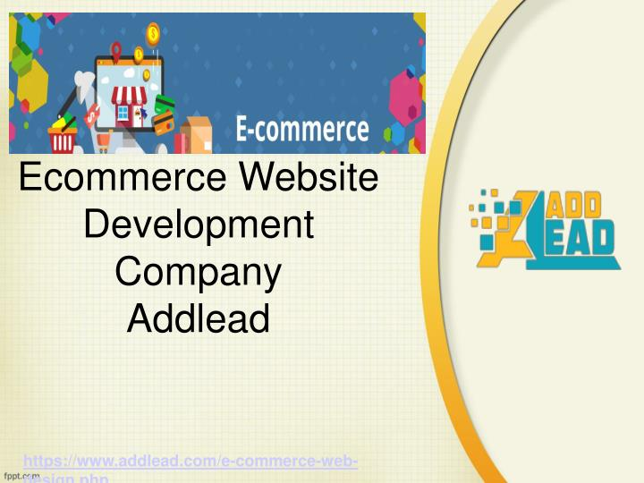 ecommerce website development company addlead n.