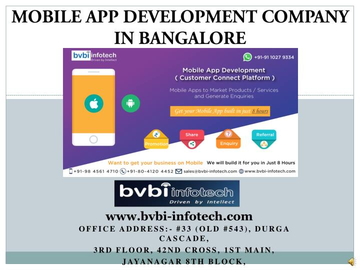 mobile app development company in bangalore n.