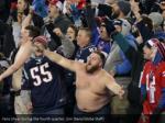 fans cheer during the fourth quarter jim davis