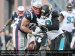 jaguars barry church hit patriots rob gronkowski