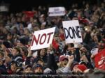 patriots fans cheered for their team during